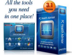 PC health adviser box