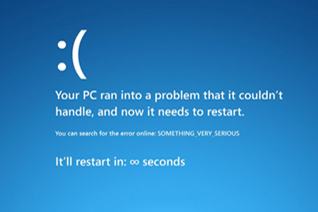 fix windows 8 Blue Screen of Death