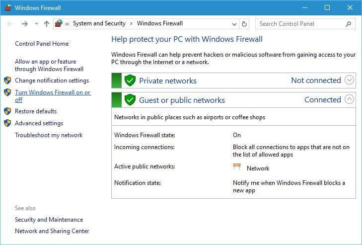 kurtulmak exe dosyaları sorunu Windows 10 açamıyor