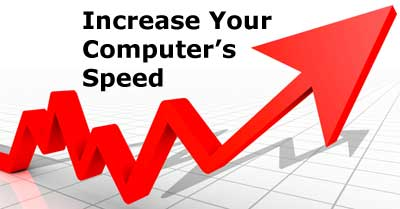 increase PC speed