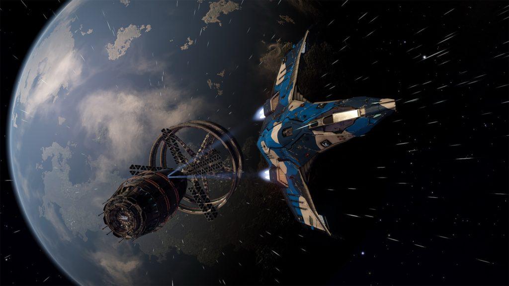 Space-ship-of-elite-dangerous