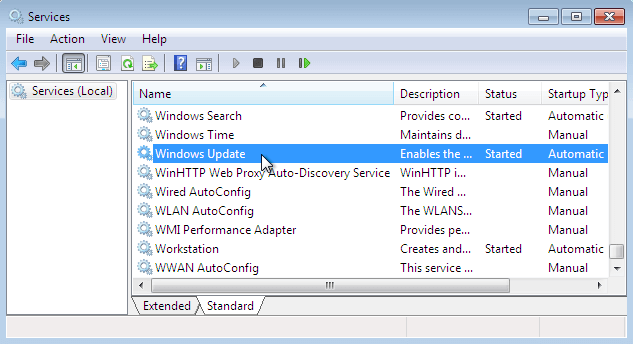 fix SVCHOST.EXE Application Error 0x745f2780