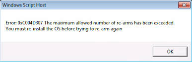 Error 0xc004d307