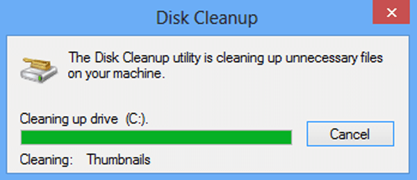 disk cleaning process