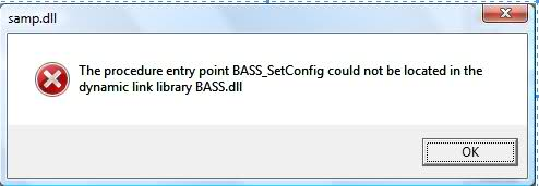 bass.dll error