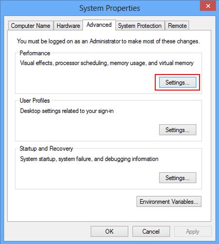 low virtual memory 3