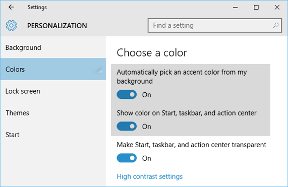 Enable_Colorization_Start_Taskbar_Windows_10
