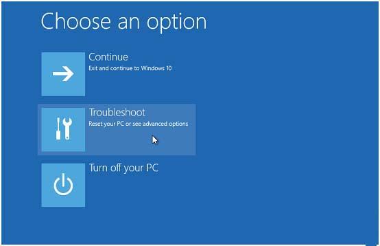reboot into safe mode windows 10