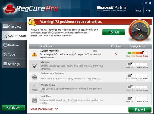 regurepro_systemscan