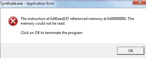 fix referenced memory error
