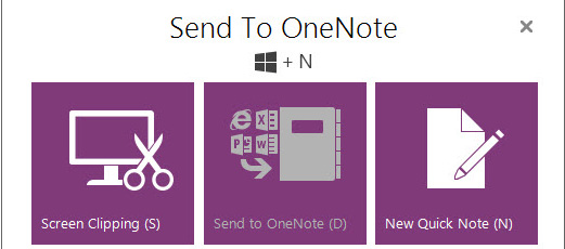 Unable to use Send to OneNote 2016 on Internet Explorer