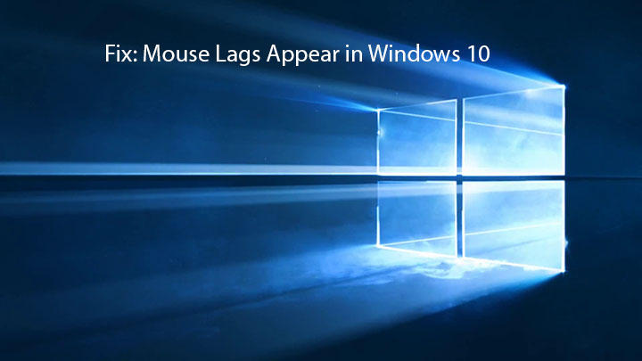 methods to repair mouse lags error