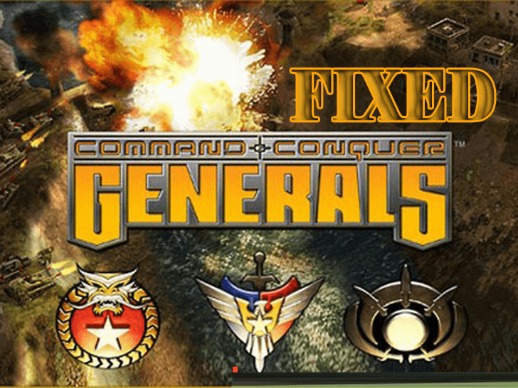 Command and Conquer Generals- Fixed Zero Hour, Serious