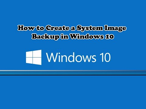 how to create a pc image