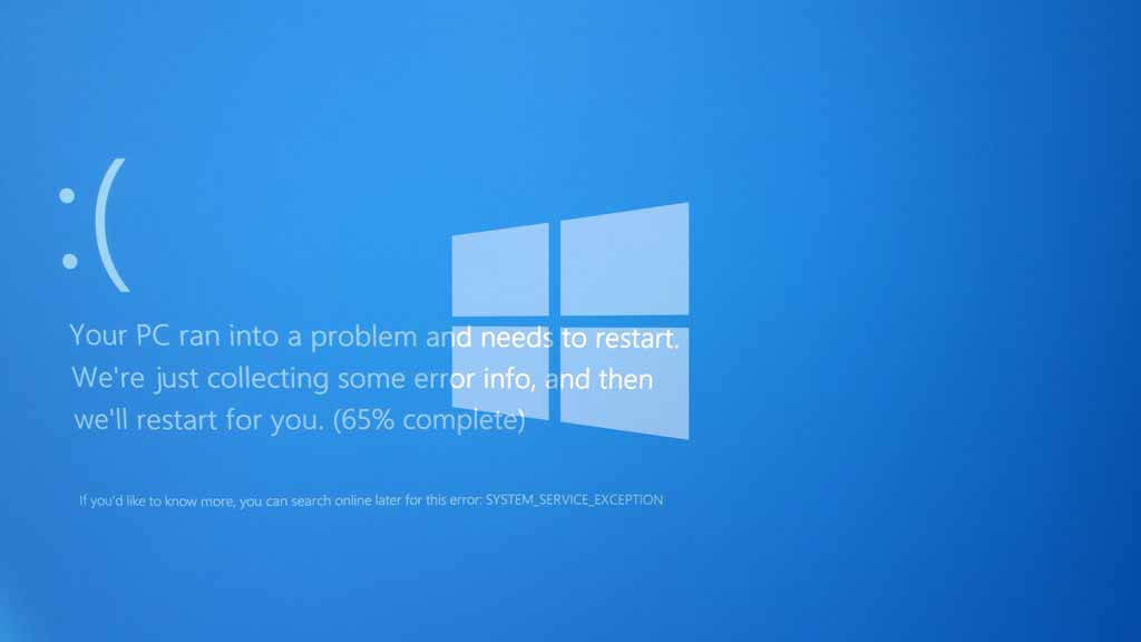 Methods to Fix 'System Service Exception' Error in Windows 10 ...