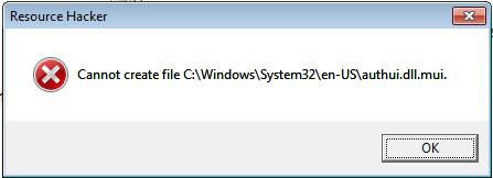 Authui.dll Not Found or Missing Errors