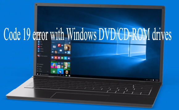 Code 19 error with Windows drives