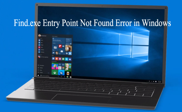 Find.exe Entry Point Not Found Error in Windows
