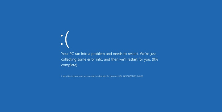 Windows 10 0x000000DA error
