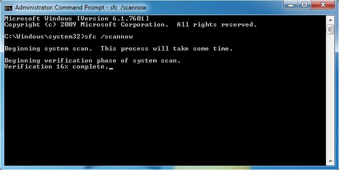 remove Error code 0x80073712