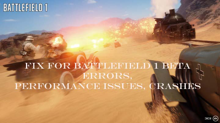 battlefield 1 beta errors