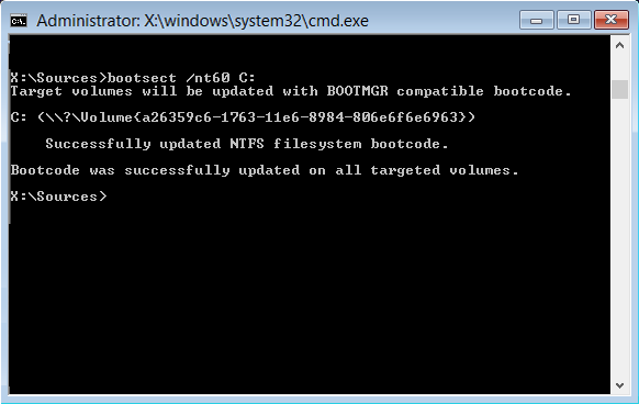 bootsect-nt60-c