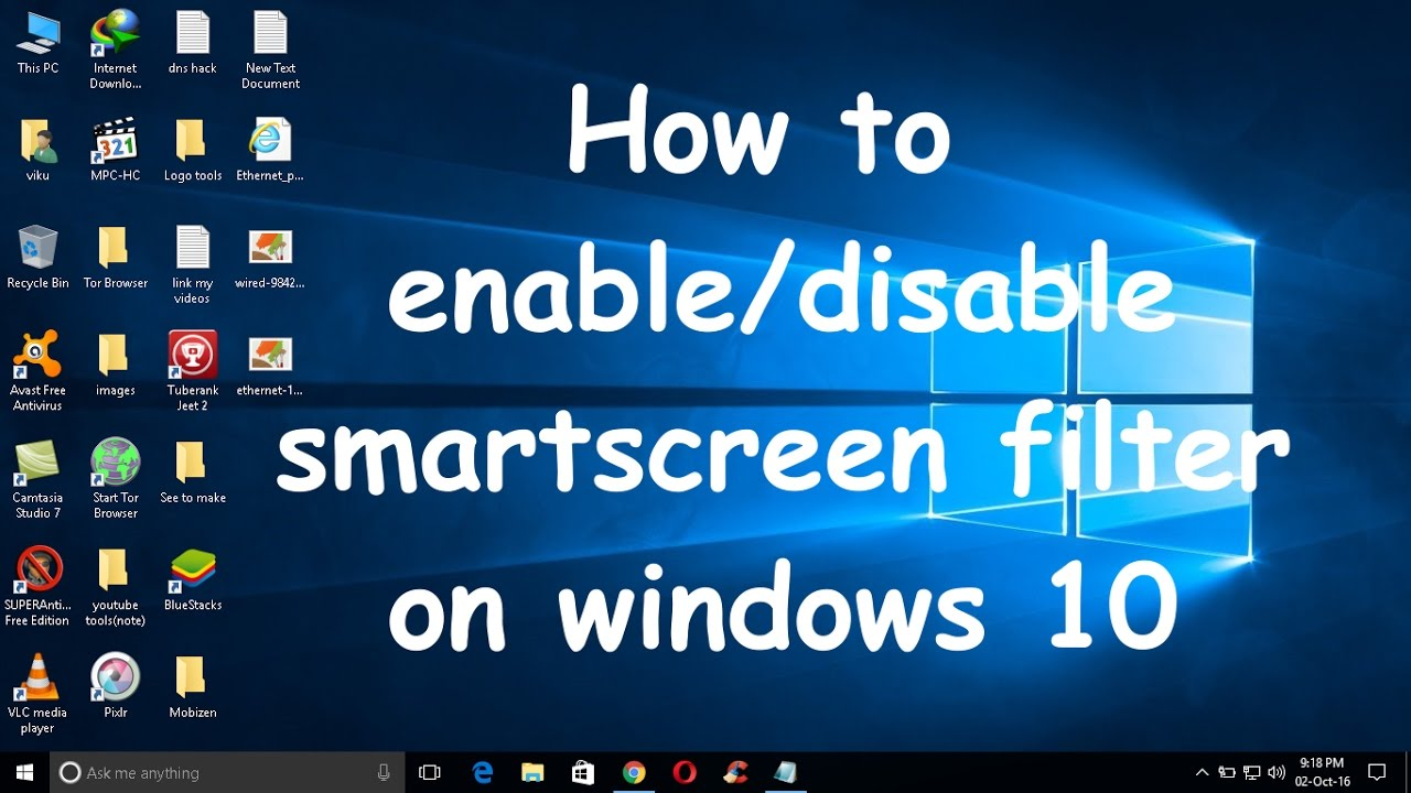 about Edge SmartScreen Filters