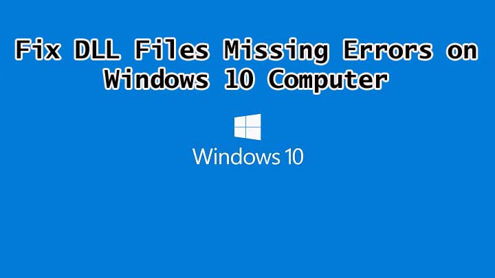 Fix DLL Errors