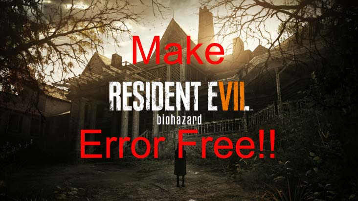 Resident Evil 7 Biohazard crashes