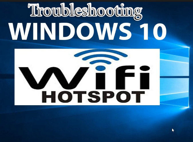 troubleshoot windows 10 Wi-Fi adapters
