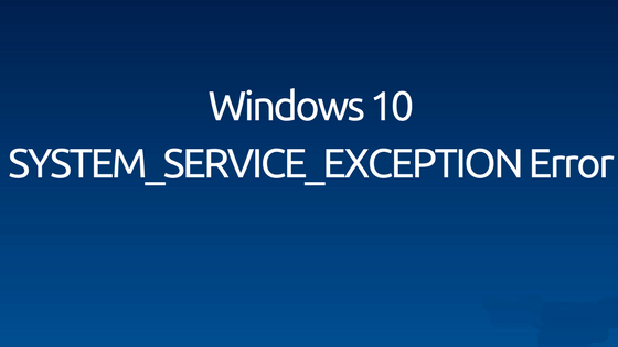 Fix System_Service_Exception