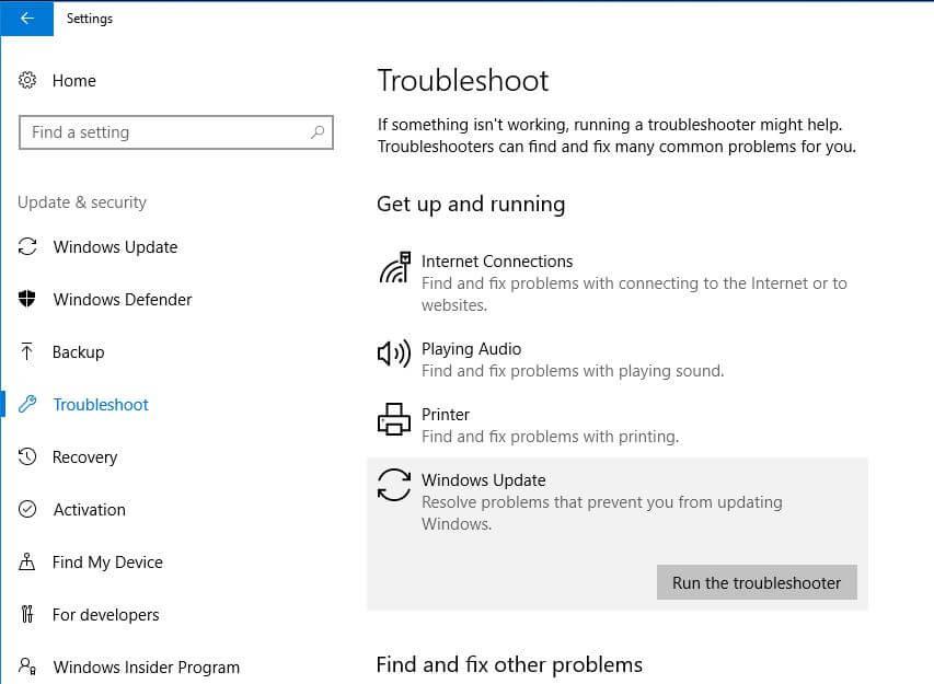 6 Working Solutions to Fix Windows 10 Update Error 0x800f0831