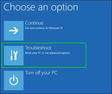 Windows 10 boot into safe mode