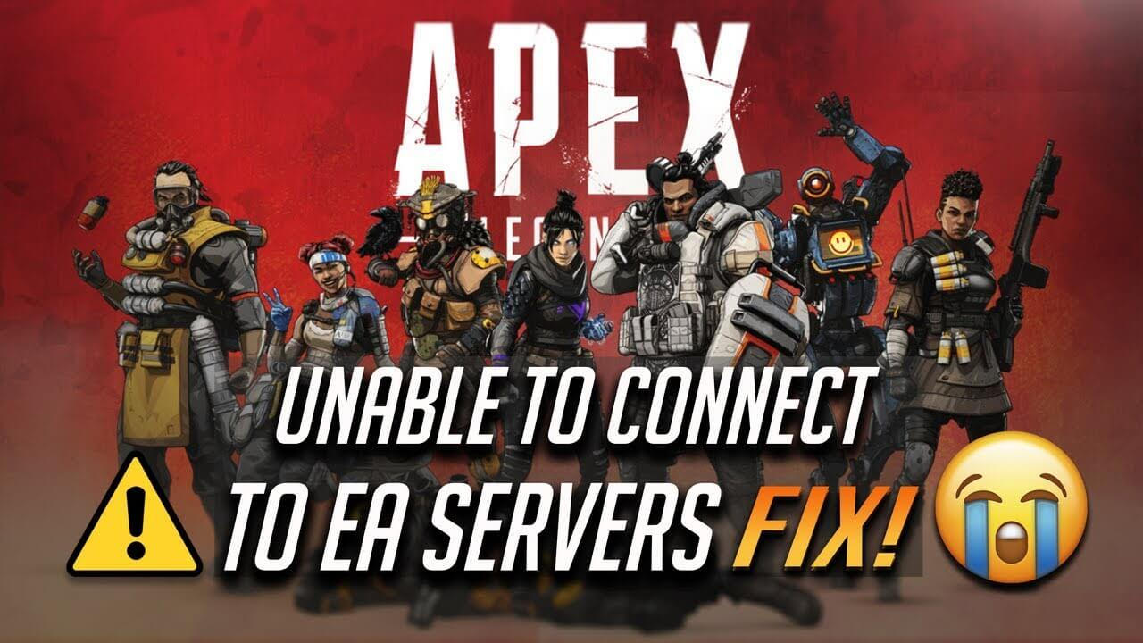 Fixed] Apex Legends Errors Crashing & Server Disconnected