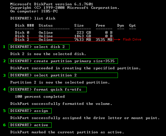 fixboot access denied