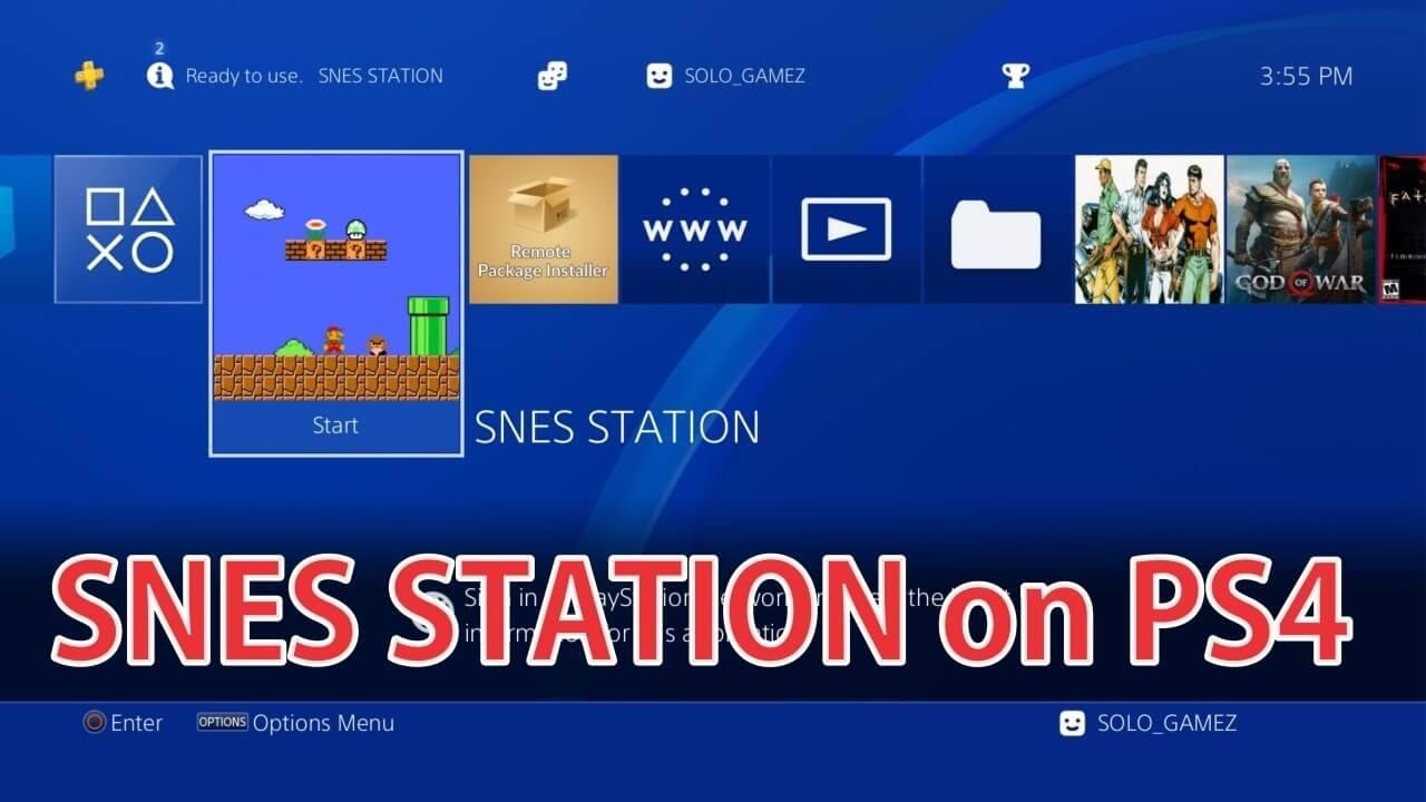 SNESStation Emulator for PS4