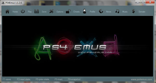 PS4 Emus emulator