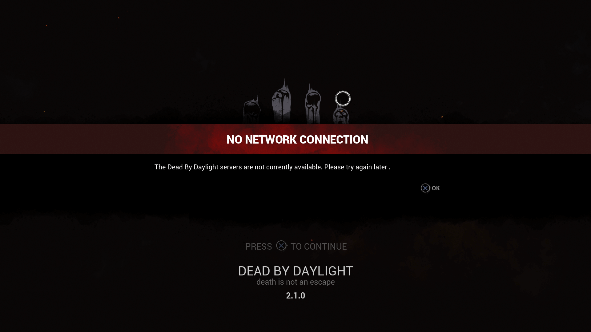 Dead by Daylight Server Issues