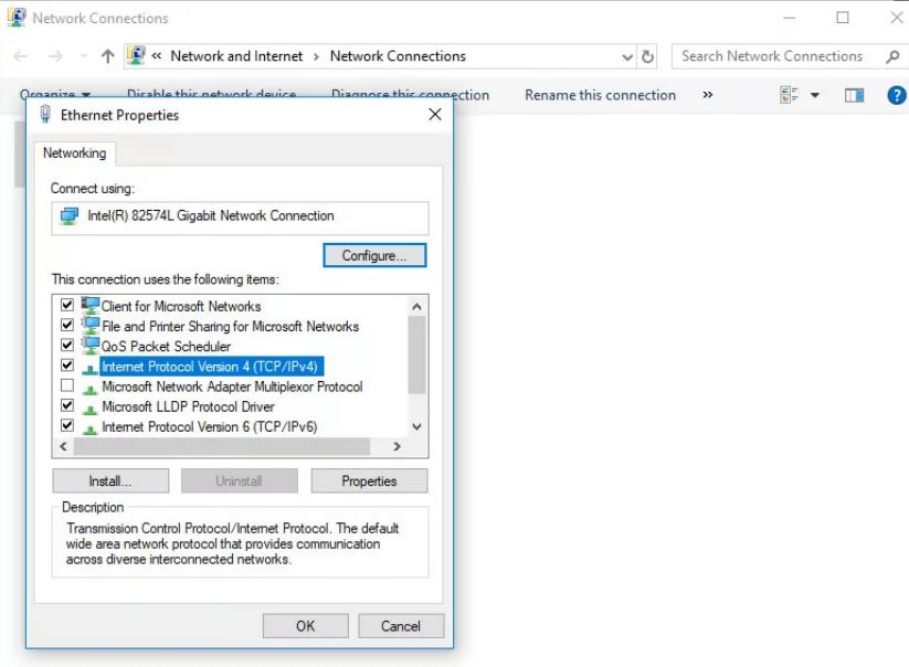 Update error 8024402C in Windows