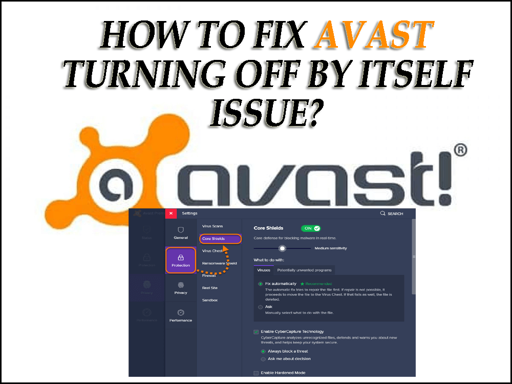 How To Fix Avast Turning Off By Itself Issue