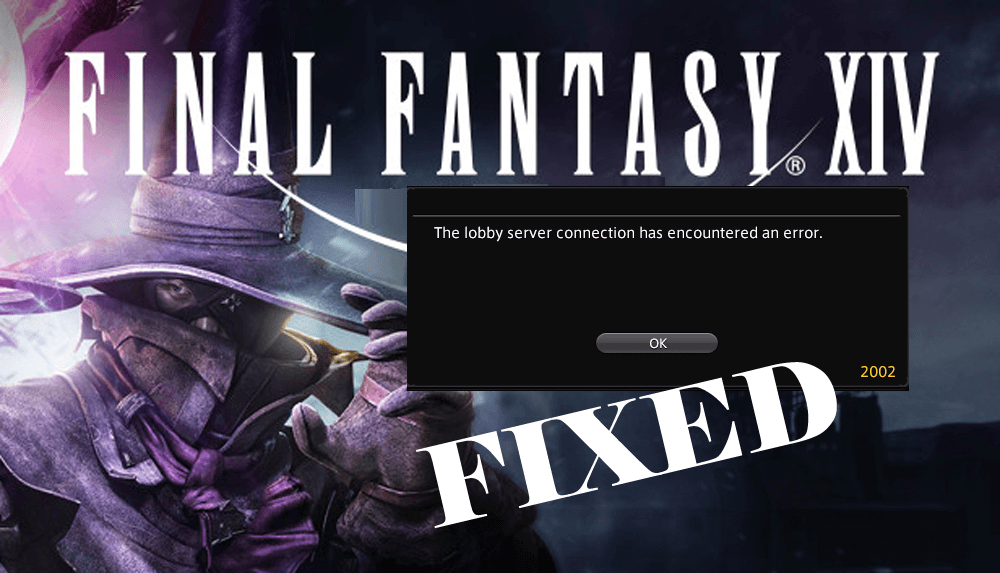 final fantasy xiv error 2002