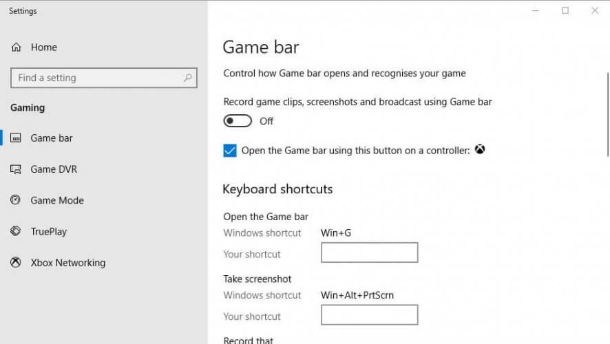game stuttering in Windows 10