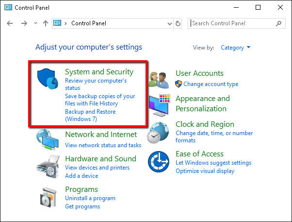 fix error code 16 on Windows 10